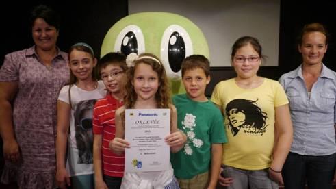Magyar iskola nyerte az 5000 eurós fődíjat a Panasonic Európai Képes Öko Napló versenyén