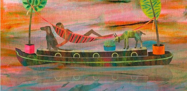 A nap képe – Balogh Andrea illusztrációja