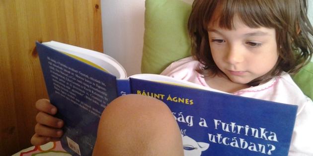 Bálint Ágnes olvasási verseny