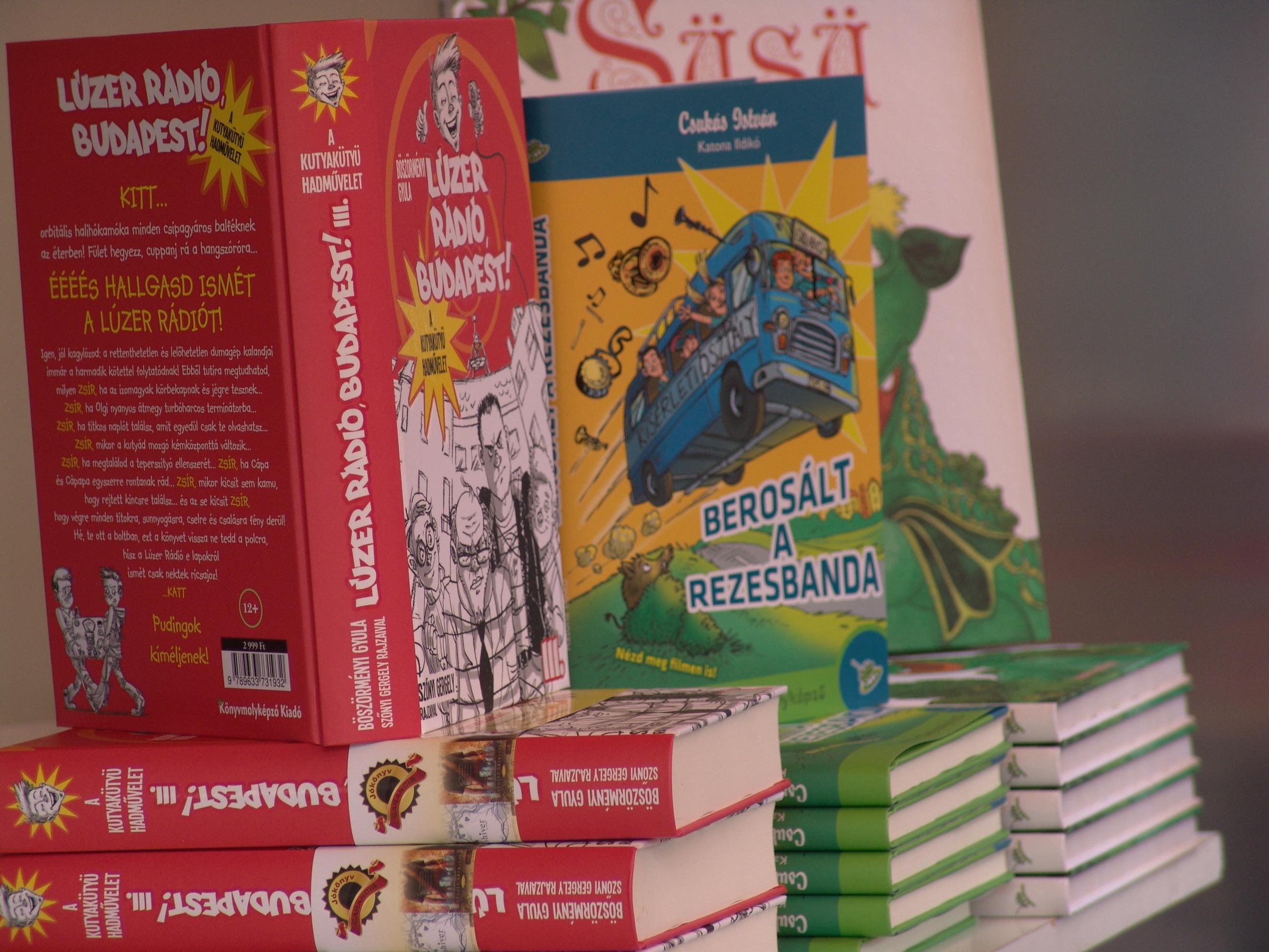 Új Csukás István-kötet jelent meg