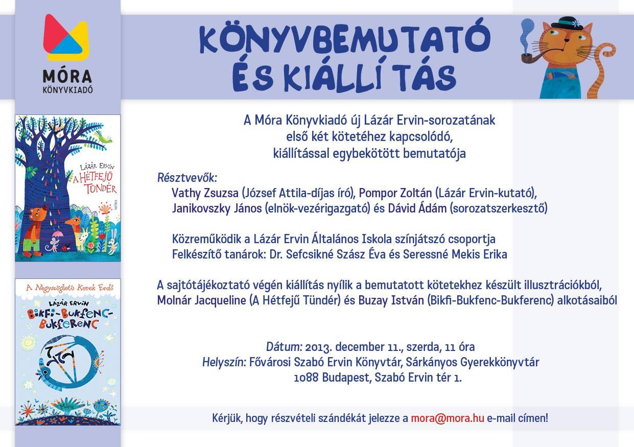 Könyvbemutató és kiállítás