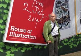 A House of Illustration Quentin Blake illusztrációival nyit Londonban