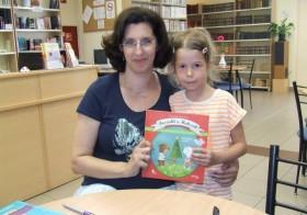 Bosnyák Viktória a Kaméleon Olvasóklubban