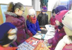 Könyvajándék Nap a sárospataki Szent Erzsébet Katolikus Általános Iskolában