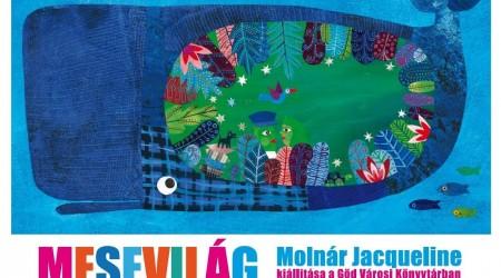 Mesevilág – Molnár Jacqueline illusztrációiból nyílik kiállítás Gödön