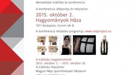 Hagyomány a kortárs iparművészetben – konferencia