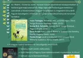 A holland gyermekirodalomról az Írók Boltjában, február 21-én