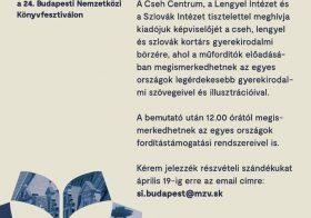 A Visegrádi Négyek országainak gyermekirodalmi börzéje