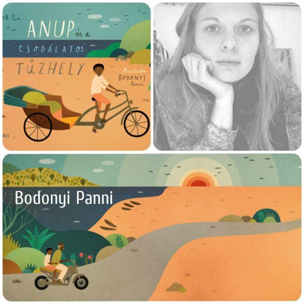 Bodonyi Panni Vajda Éva meséjéhez, az Anup és a csodálatos tűzhely című meséjéhez készült illusztrációit nevezte (a könyvet a Móra Kiadó adta ki)