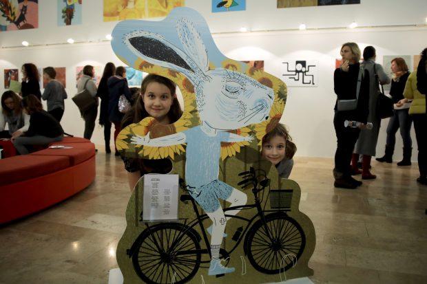 Versképek - gyermek-versek illusztráció-kiállítás a Balassi intézetben 2018 február 27-én
